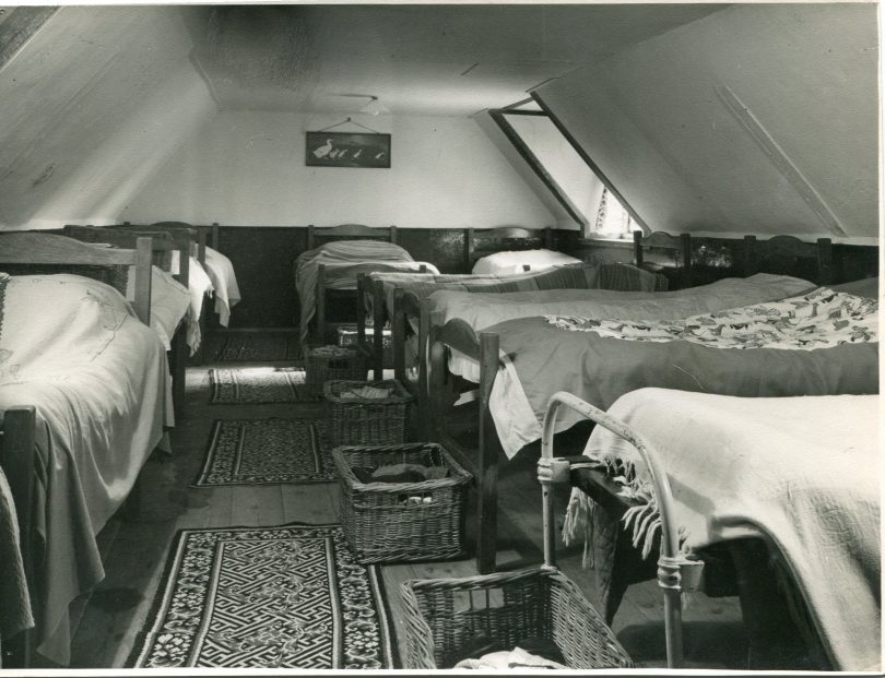 Dormitory in the eaves