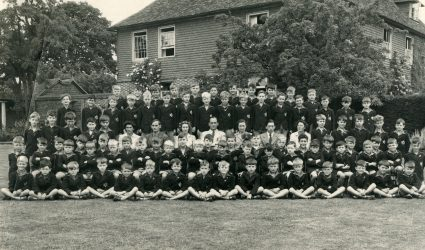Whole School Photo 1947 or 1949