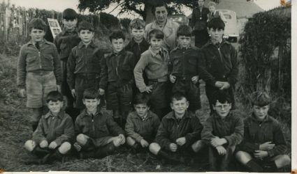 Group of boys 1940's