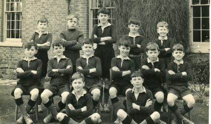 Football Team Photograph