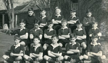 Football Team Photograph 1950's