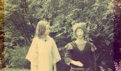 Photograph from a production of A Midsummer Night's Dream.