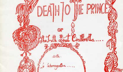Programme for Play Death to the Prince or The Truth about Cinderella
