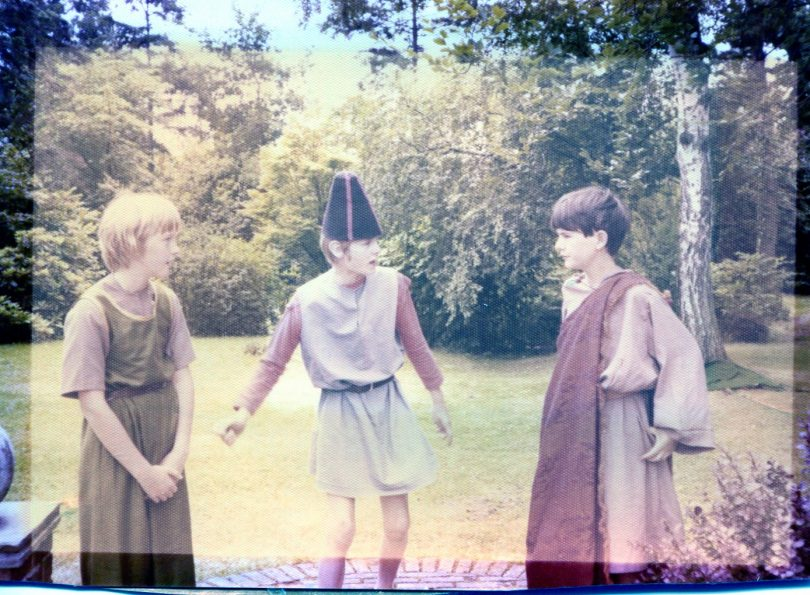 A photo of the play A midsummer Night's Dream