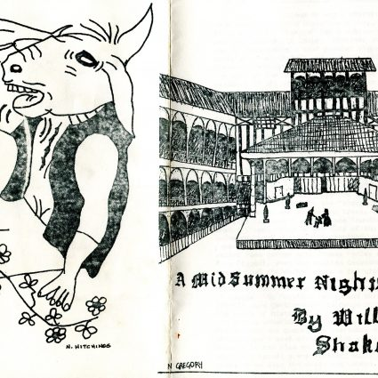 Programme for A Midsummer Night's Dream