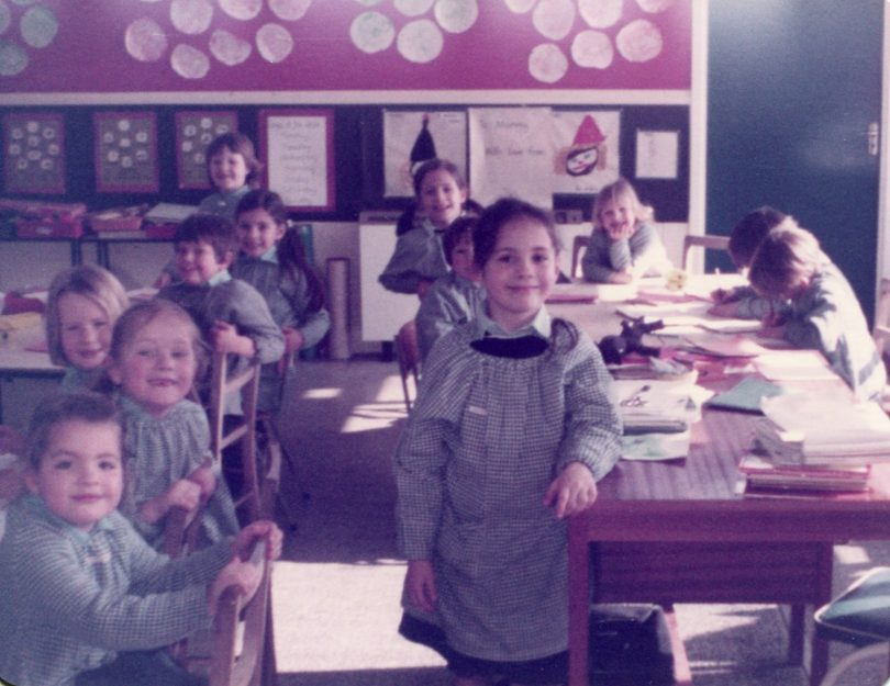 Group of Nash House children in the classroom