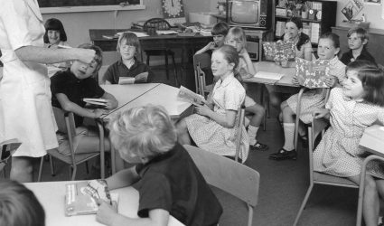 A Class Reading in Lower School