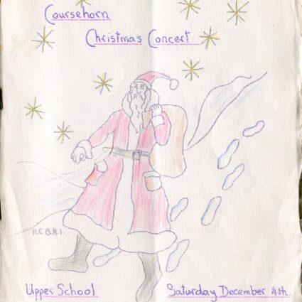 Coursehorn Christmas Concert Programme 1965