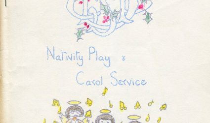 Coursehorn and Little Stream Nativity Play and Carol Service Programme.