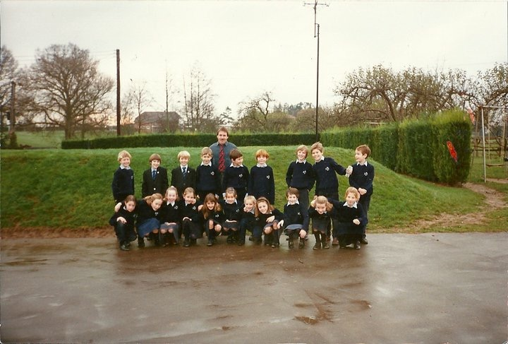 Informal class photograph 1991