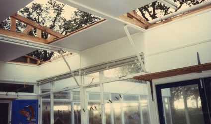 Storm Damage to Nash House Hall 1987