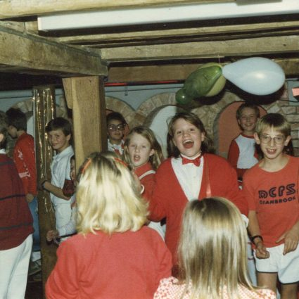 Boarding Christmas party 1986