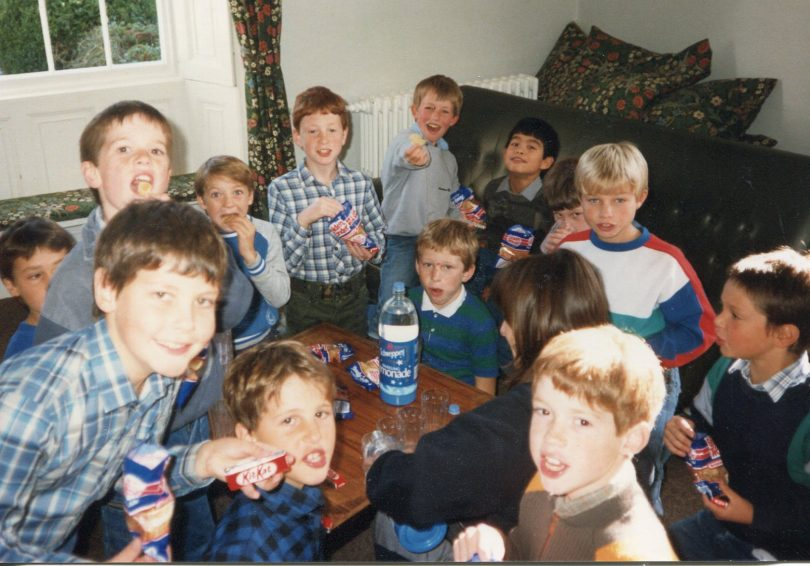 Birthday party in the Boarding House