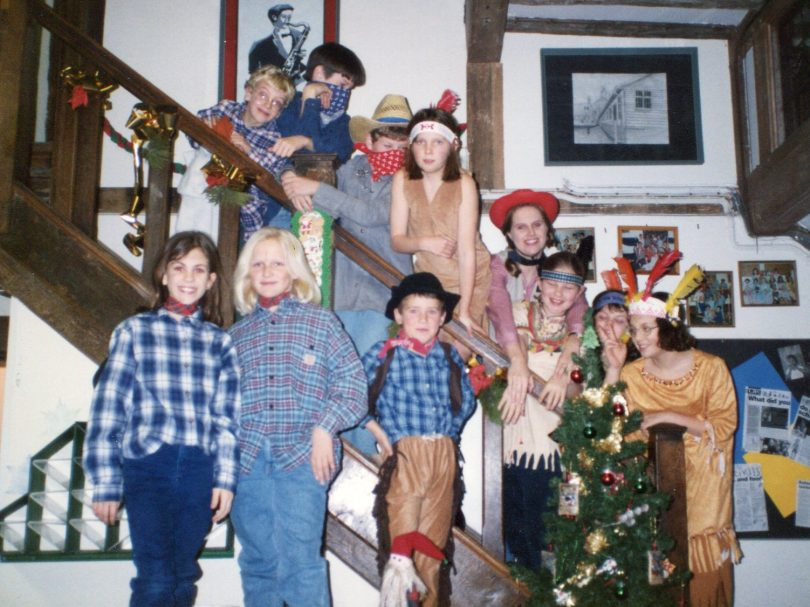 Christmas in 'Manor' Boarding House