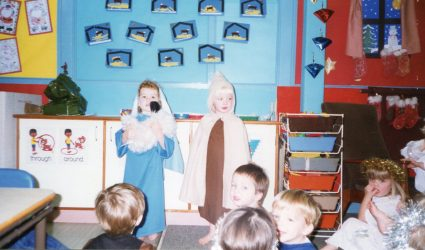 Nursery Class Christmas Nativity 1997