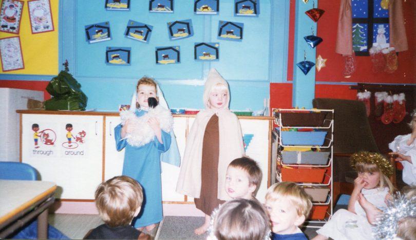 Nursery Class Christmas 1997