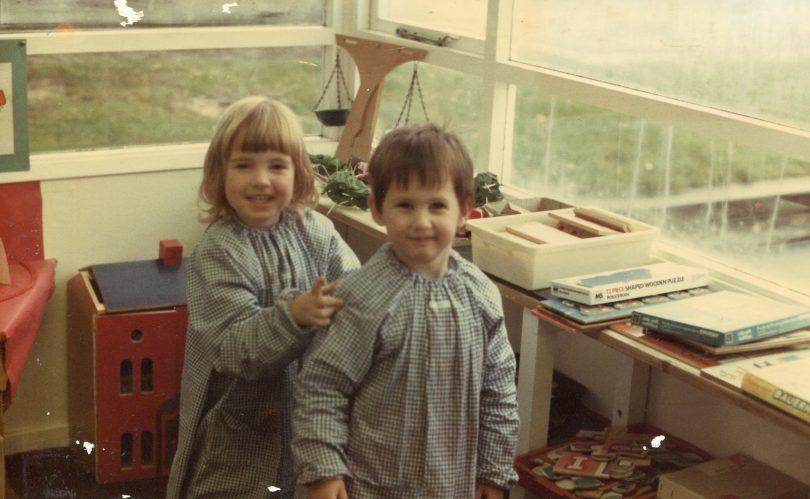 Nash House Children in their smocks