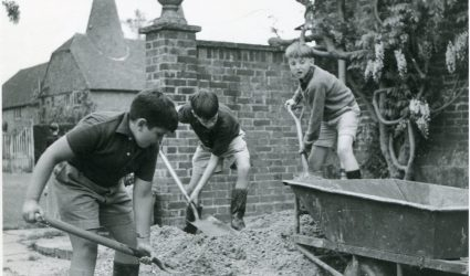 Moving Gravel 1964