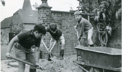 Moving Gravel 1964
