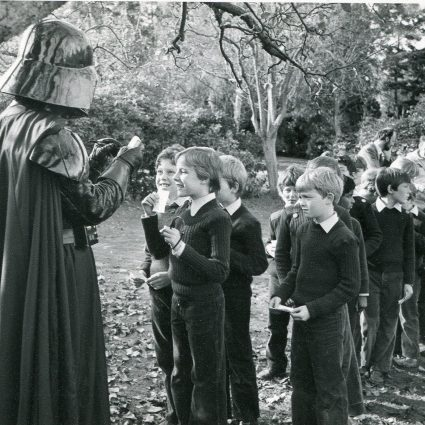 Darth Vader visits Dulwich in 1983.