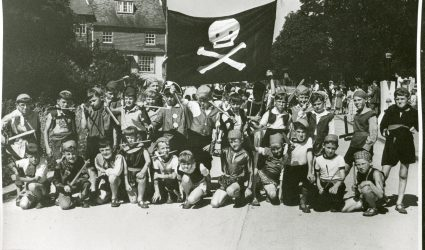Boys dressed as Pirates 1951
