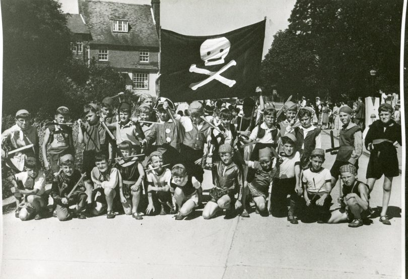 Boys dressed as Pirates