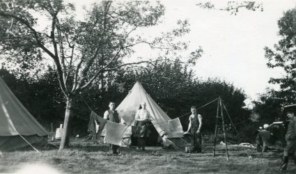 Under Canvas - The Munich Camp 1938