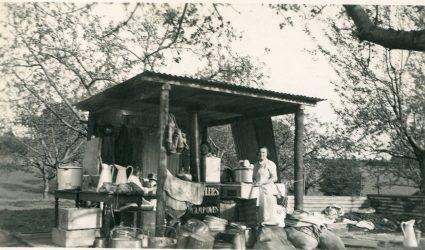 The Cooking Hut - Munich Camp 1938