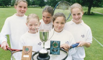 Winners of the Lawn Tennis Association Cup 1998