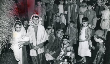 School Nativity Play Performed in a Church