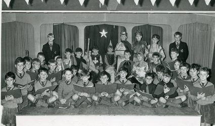 Nativity Cast and Choir 1964