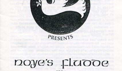 Noyes Fludde Play