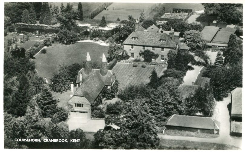 Aerial view of Coursehorn