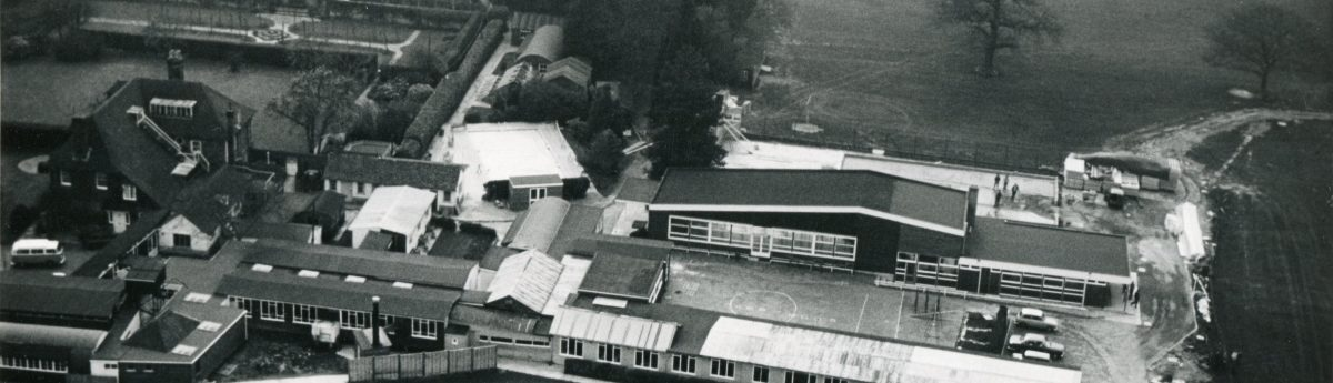 Aerial view of Upper School