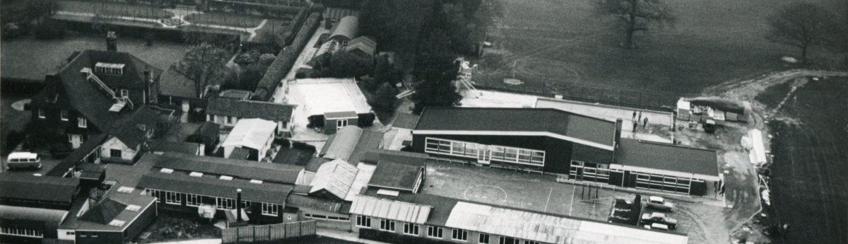 Aerial view of Upper School