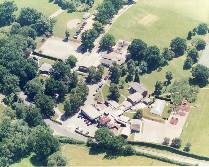 Aerial View of Lower School and Nash House