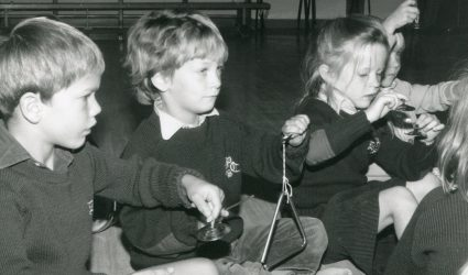 Nash House Children Playing Instruments