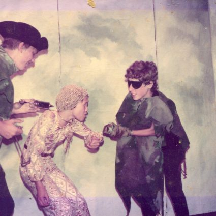 Photographs from the Performance of Dazzle 1982