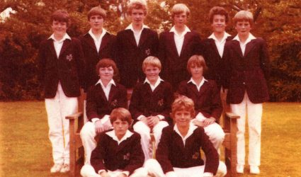 Cricket Team 1980
