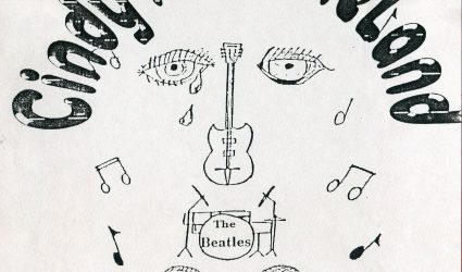 Programme from the Play Cindy in Beatleland