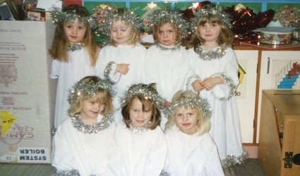 Nursery Nativity - The Angels 1998