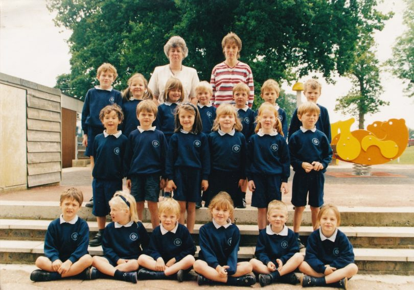 Class Photograph of 1P in Nash House