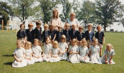 Photograph of Reception Class 1991