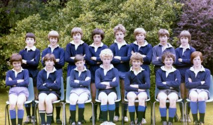 School Rugby Team 1976
