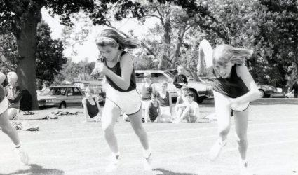 Sports Day - Girls Race