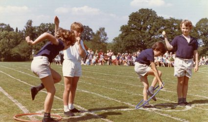 Sports Day - Hoop race