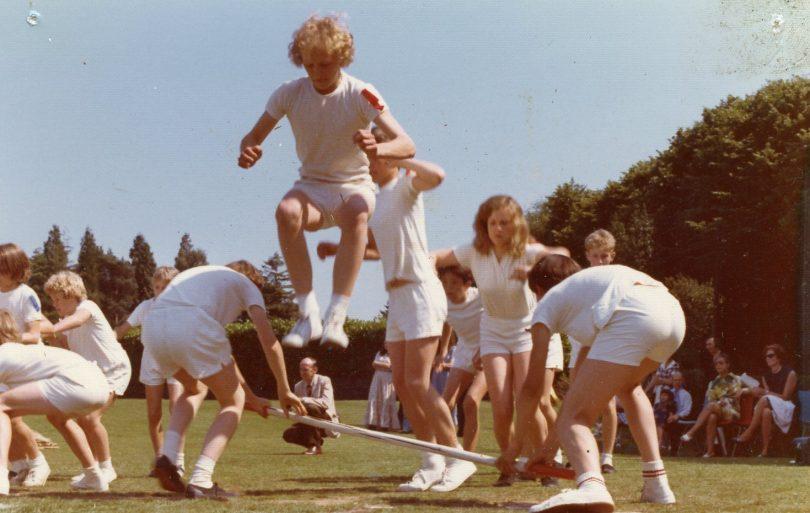 Sports Day - Pole Race | School