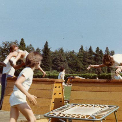 Outdoors Gymnastics Exhibition | School