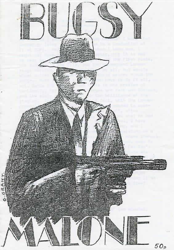 Bugsy Malone 1986 | School