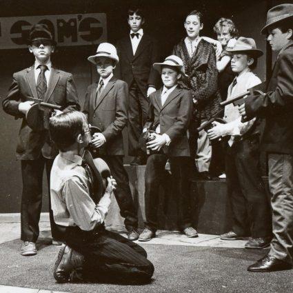 Bugsy Malone Play 1986 | School